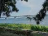 膳所城跡公園から琵琶湖(近江大橋)