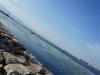 琵琶湖から近江大橋