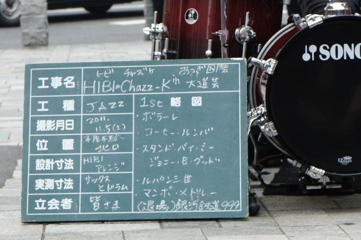 HIBI★Chazz-K(工事ボード)