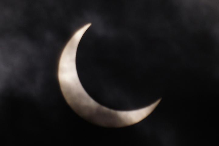 金環日食 07:20