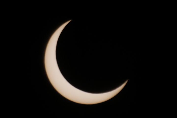 金環日食 07:23