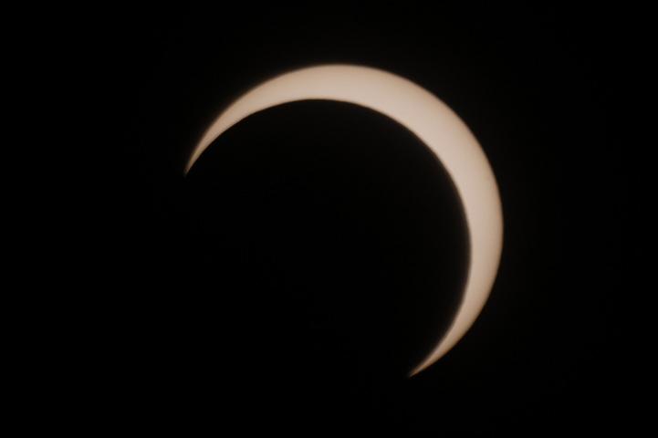 金環日食 07:41