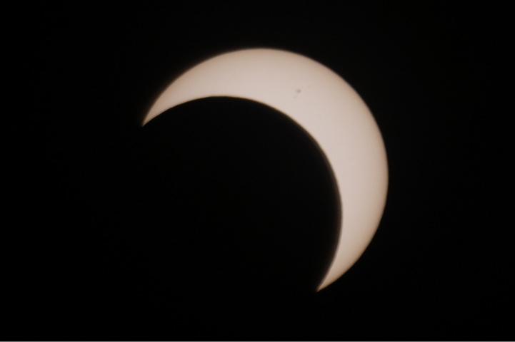 金環日食 07:51