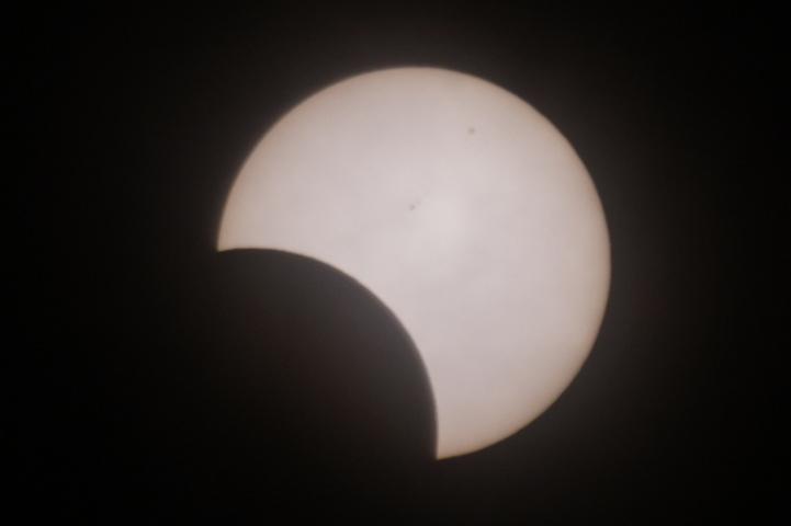 金環日食 08:24