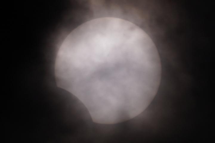 金環日食 08:48