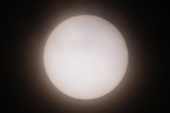 金環日食 09:03