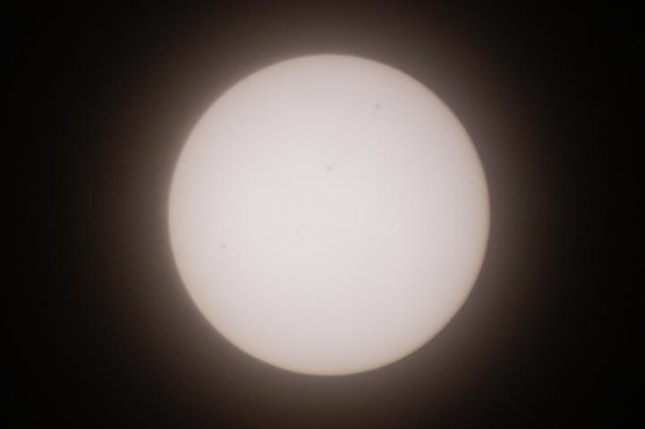 金環日食 09:00