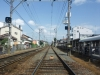 線路上の青空