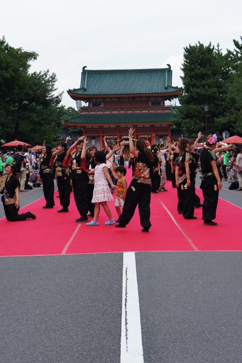 平安神宮でのイベント