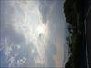 火の山公園から見た空