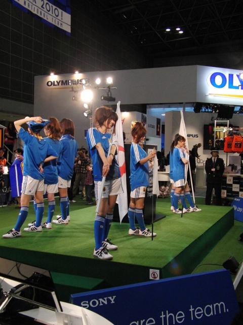 SONY World Cup 2010コンパニオン達