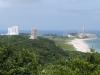 ロケットの丘展望所より発射台を望む
